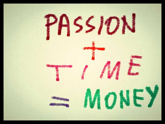 Write for passion or for money?